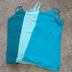 Bundle of 3 Torrid foxy cami in blue size 3